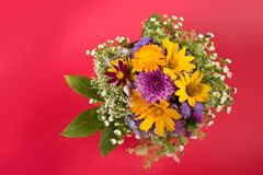 Bunch of flowers Stock Photos