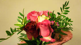 Bunch of flowers. bouqet. valentine's day decoration Royalty Free Stock Images