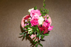 Bunch of flowers. bouqet. valentine's day decoration. Bunch of flowers. bouqet. valentine's day with love Stock Photo