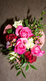Bunch of flowers. bouqet. valentine's day with love Stock Photography