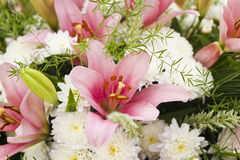 Bunch of flowers , closeup Stock Image