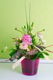 Bunch of flowers composition Royalty Free Stock Image