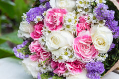 Bunch of flowers gift Royalty Free Stock Photos