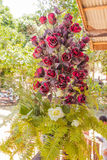 Bunch of flowers on wedding. In Thailand Royalty Free Stock Photography