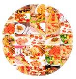 Bunch of food Stock Image
