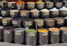 Food market grains Royalty Free Stock Images