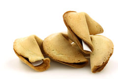 Bunch of fortune cookies Stock Photo