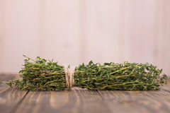 Bunch of fragrant rosemary Royalty Free Stock Photography