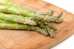 Bunch of fresh asparagus Stock Photography