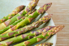 A bunch of fresh asparagus Stock Image