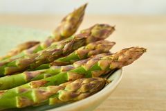 A bunch of fresh asparagus Royalty Free Stock Photos