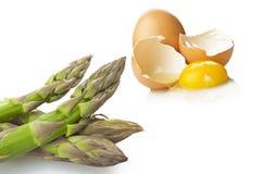 Bunch of fresh asparagus Stock Photo