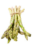 Bunch of fresh asparagus Stock Images