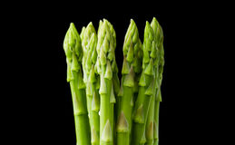 Bunch of fresh asparagus. Royalty Free Stock Photos