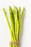 Bunch of fresh asparagus tie Stock Photos