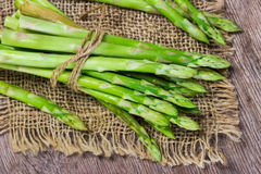 Bunch of fresh asparagus Royalty Free Stock Photography