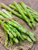 Bunch of fresh asparagus Stock Photos