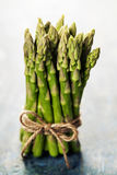 Bunch of fresh asparagus Royalty Free Stock Images