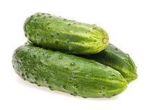 Bunch of fresh cucumber Stock Photo
