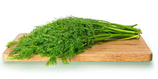 Bunch of fresh dill Stock Photo