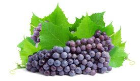 Bunch of fresh grapes royalty free stock photos