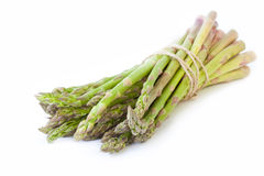 Bunch of fresh green asparagus Stock Photo