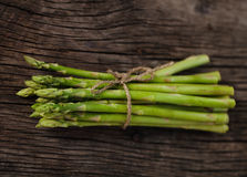 Bunch of fresh green asparagus spears Royalty Free Stock Photo