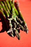 Bunch of fresh green asparagus Stock Photography