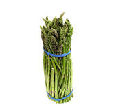 Bunch of fresh green asparagus Royalty Free Stock Photo