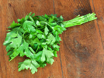 Bunch of fresh green parsley Royalty Free Stock Photos