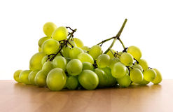 Bunch of fresh green table grapes Royalty Free Stock Images