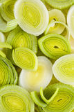Bunch of fresh leeks Royalty Free Stock Photo