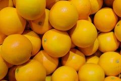 Bunch of fresh mandarin oranges Stock Image
