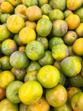 Bunch of fresh oranges in the market,Orange group background Royalty Free Stock Photo