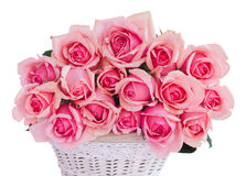 Bunch  of fresh pink roses Stock Photography