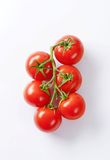 Bunch of fresh red tomatoes Royalty Free Stock Photos