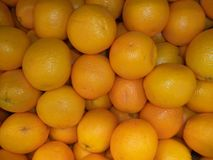 A bunch of fresh ripe oranges royalty free stock images