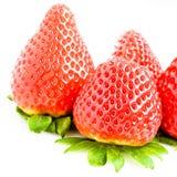 Bunch of fresh strawberries Stock Photography