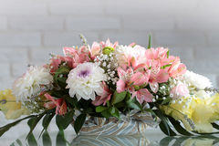 Bunch of fresh tender flowers Royalty Free Stock Photo