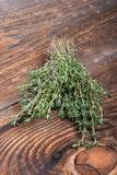 Bunch of fresh thyme Stock Image