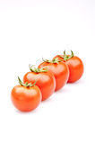 Bunch of fresh tomatoes Royalty Free Stock Photo