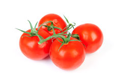 Bunch fresh tomatoes Stock Image