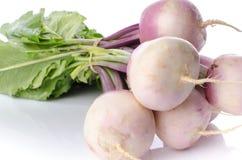 Bunch of fresh turnips Stock Photo