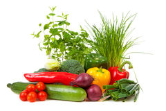 Bunch of fresh vegetables Stock Photography