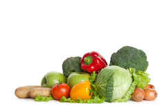 Bunch of fresh vegetables Stock Image