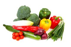 Bunch of fresh vegetables Royalty Free Stock Photography