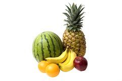 Bunch of Fruit Royalty Free Stock Image
