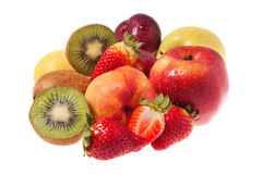 Bunch of fruits Royalty Free Stock Photography