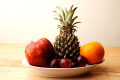 Bunch of Fruits Royalty Free Stock Photos