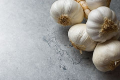 Bunch of garlic Stock Image